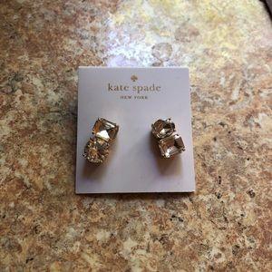 Kate spade diamond earrings